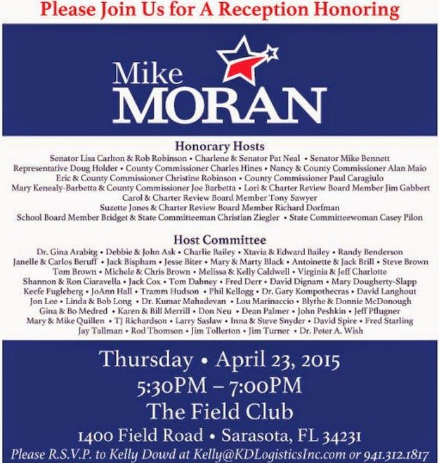 Mike Moran Reception