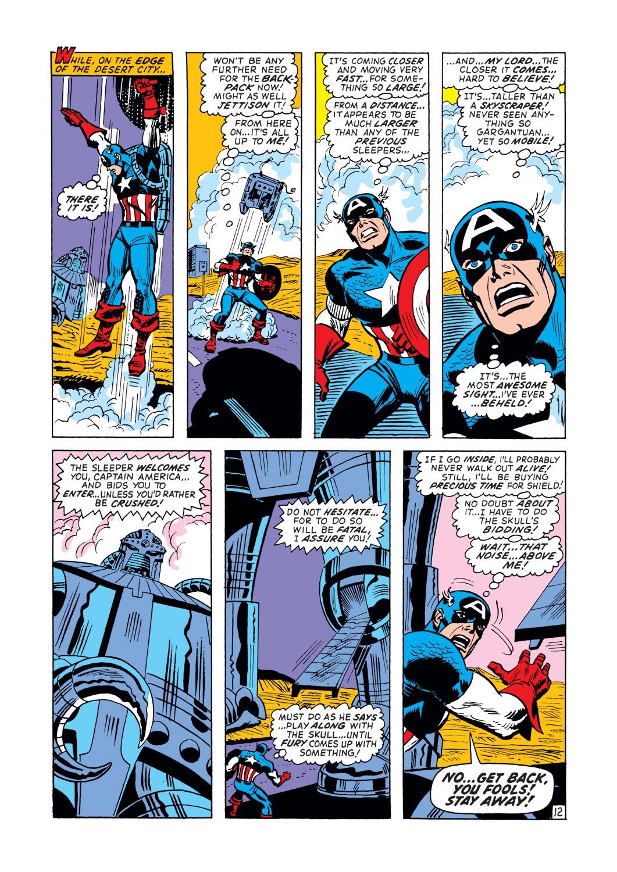 Captain America (1968) Issue #148 #62 - English 13