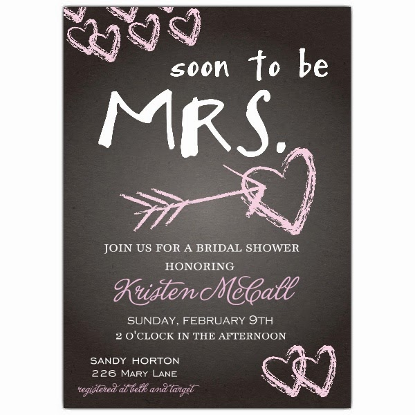 Bridal Shower Invitations: Joint Bridal Shower Invitations