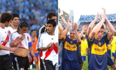 El contraste de los 'grandes' en Argentina