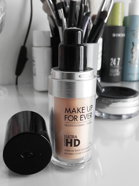 Nuovi Fondotinta ULTRA HD Make Up For Ever fluido fluid liquid liquido