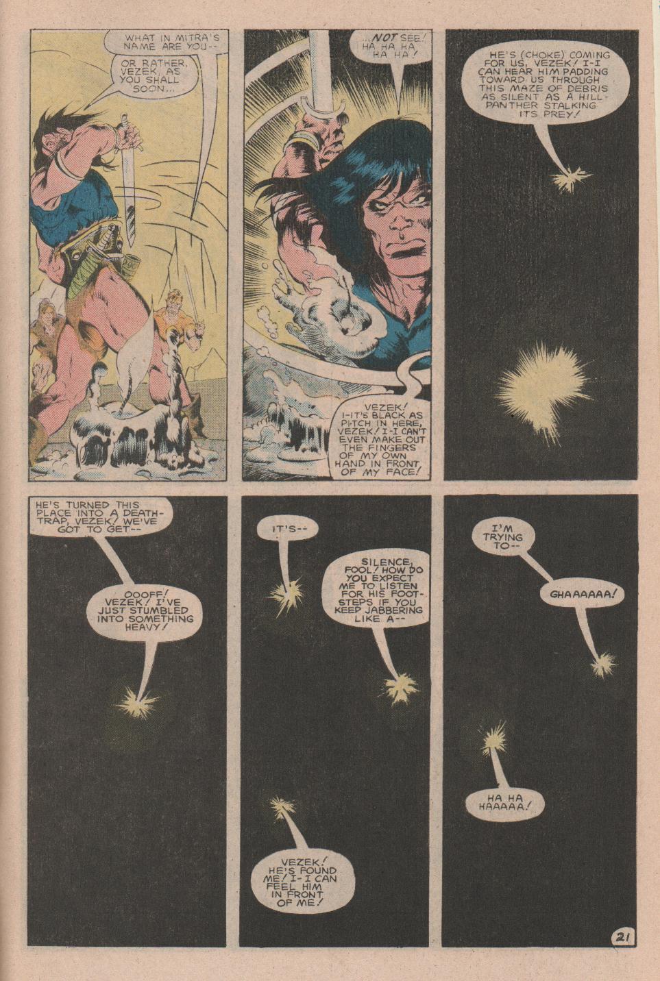 Conan the Barbarian (1970) Issue #160 #172 - English 22