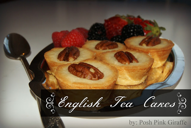 English Tea Cakes by Posh Pink Giraffe