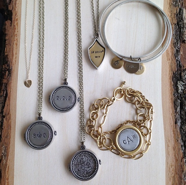 http://www.whitetrufflestudio.com/collections/necklaces/products/monogram-photo-locket-necklace-style-503