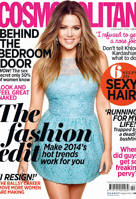 Khloe Kardashian HQ Pictures Flare Canada Magazine Photoshoot February 2014