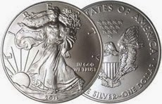 L'oncia Silver Eagle USA