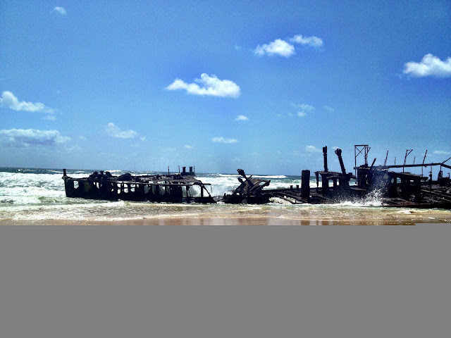Maheno shipwreck, Fraser Island