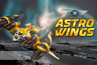 Screenshots of the AstroWings: Gold flo for Android tablet, phone.