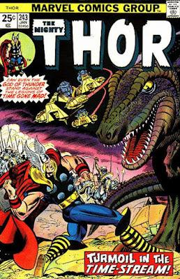 Thor #243, tyrannosaurus