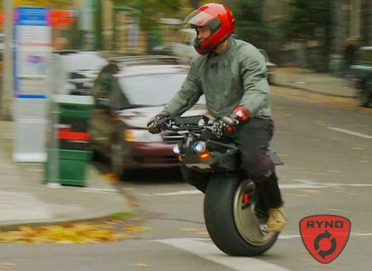 Ryno Unicycle Price >> The Great American Disconnect-Political Comments: RYNO Motors Introduces it's Electric Self ...
