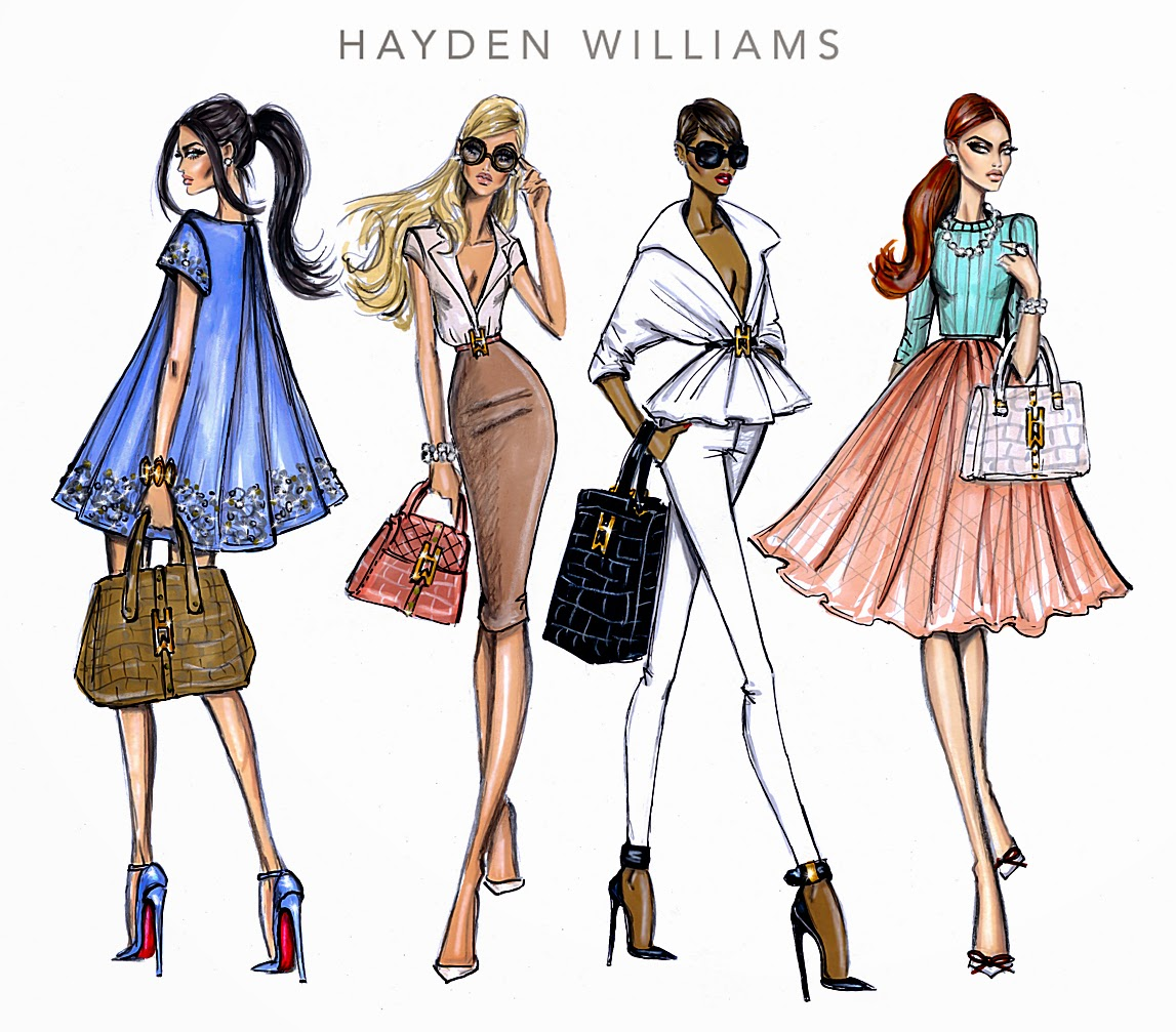 Hayden Williams Fashion Illustrations Hayden Williams 2014
