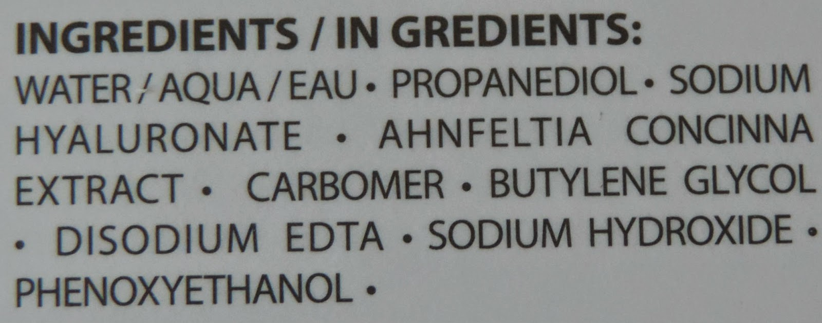 Indeed Labs Hydraluron Ingredients