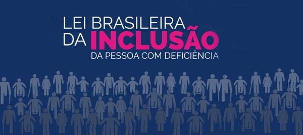 CLIQUE AQUI  E CONHEÇA A LEI BRASILEIRA DA INCLUSÃO DA PESSOA COM DEFICIÊNCIA