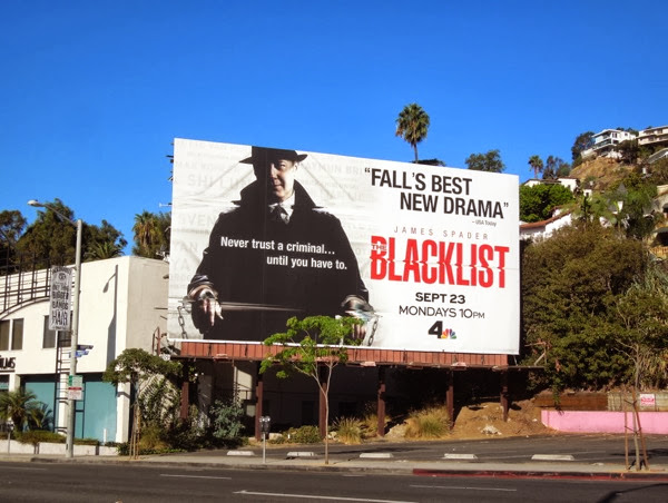 The Blacklist season 1 billboard