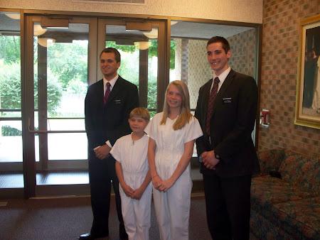 Kaylee & Jeff's Baptism