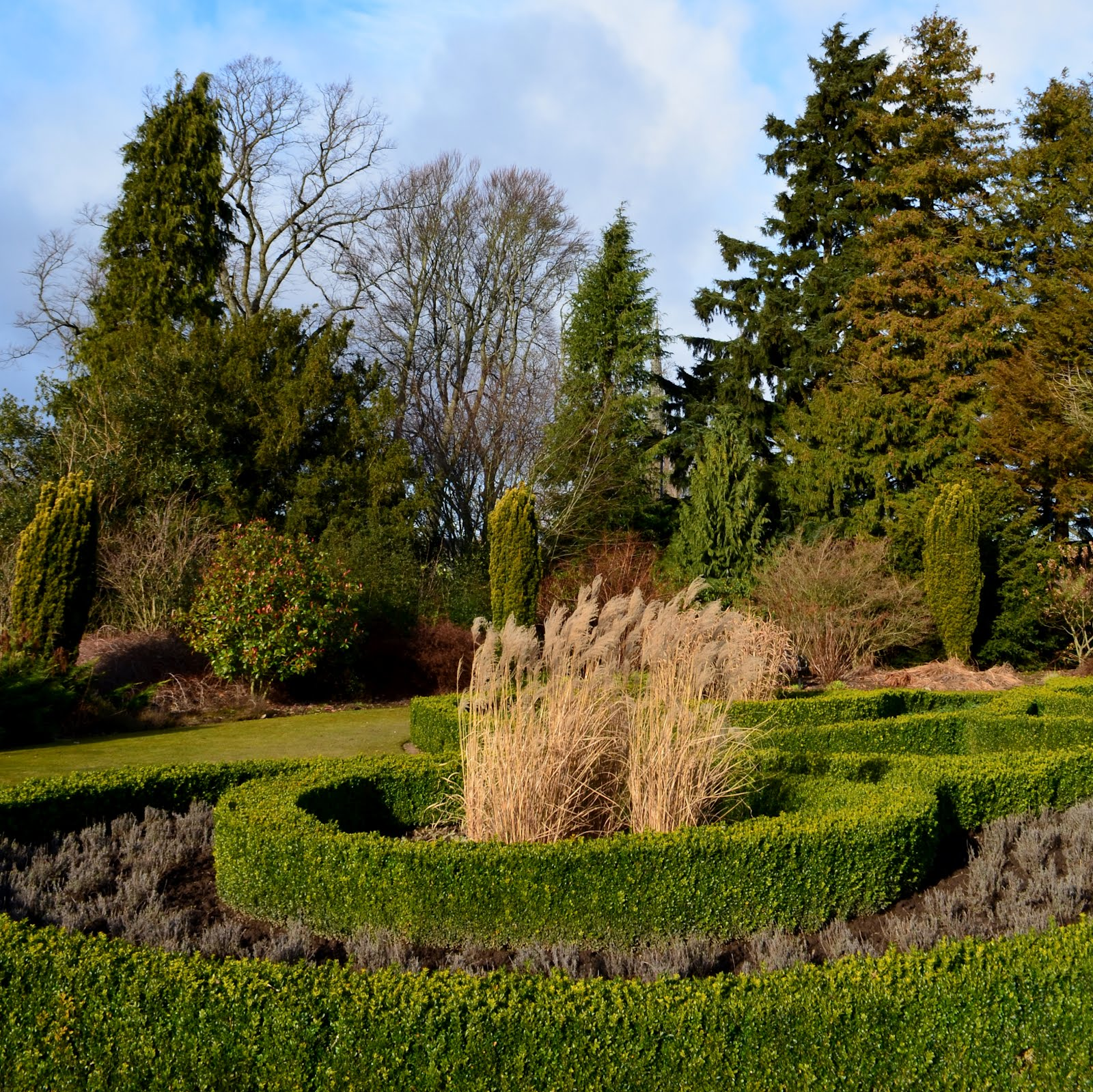 Tour Scotland Photographs Video Garden Maze River Tay Perth ...