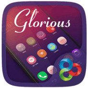 Download Glorious GO Launcher Theme Apk