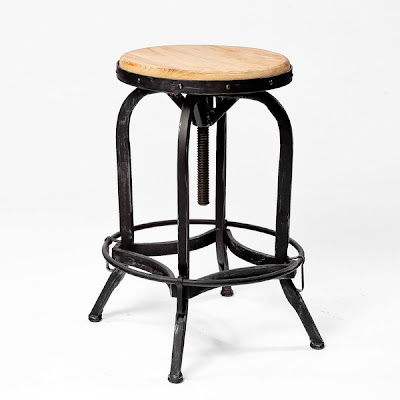 OVERSTOCK CHRISTOPHER KNIGHT HOME ADJUSTABLE NATURAL FIR WOOD FINISH BARSTOOL