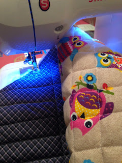 DIY sewing baby seat cover