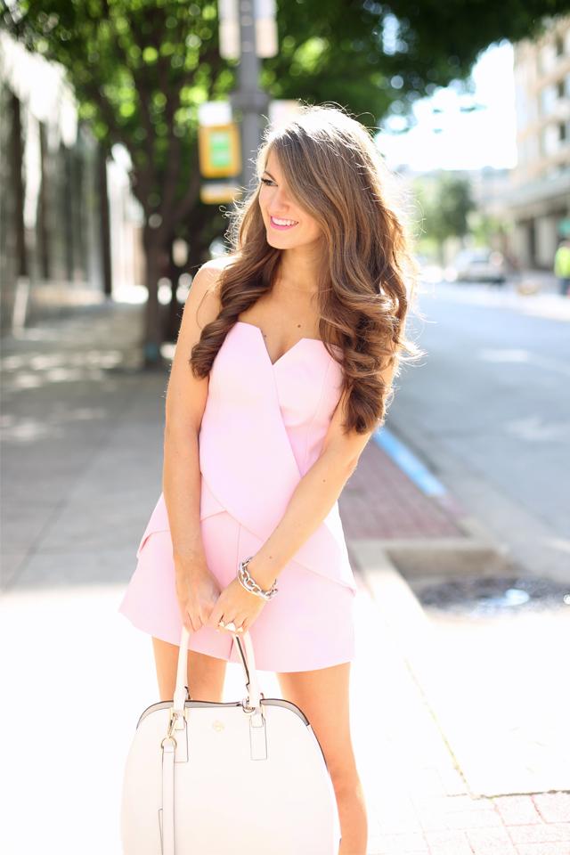 cutest pink romper