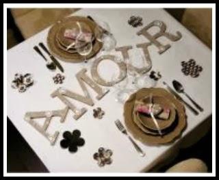 Decorar la mesa para san valentin for Decorar mesa san valentin