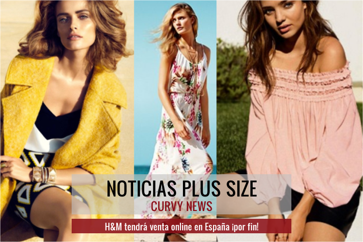 H&M (por fin) tendrá venta online en España · Curvy News