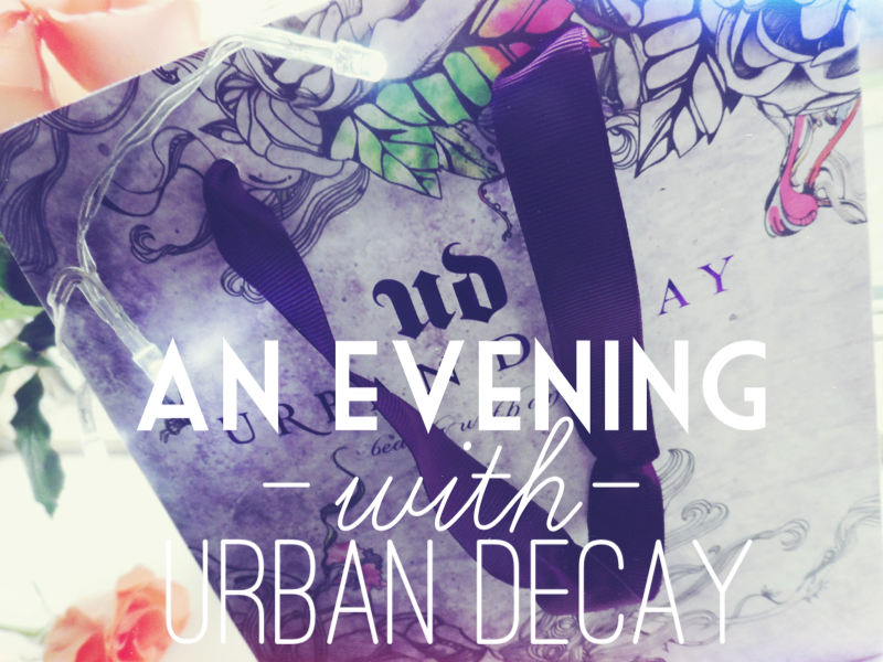 urban decay beauty blogger event