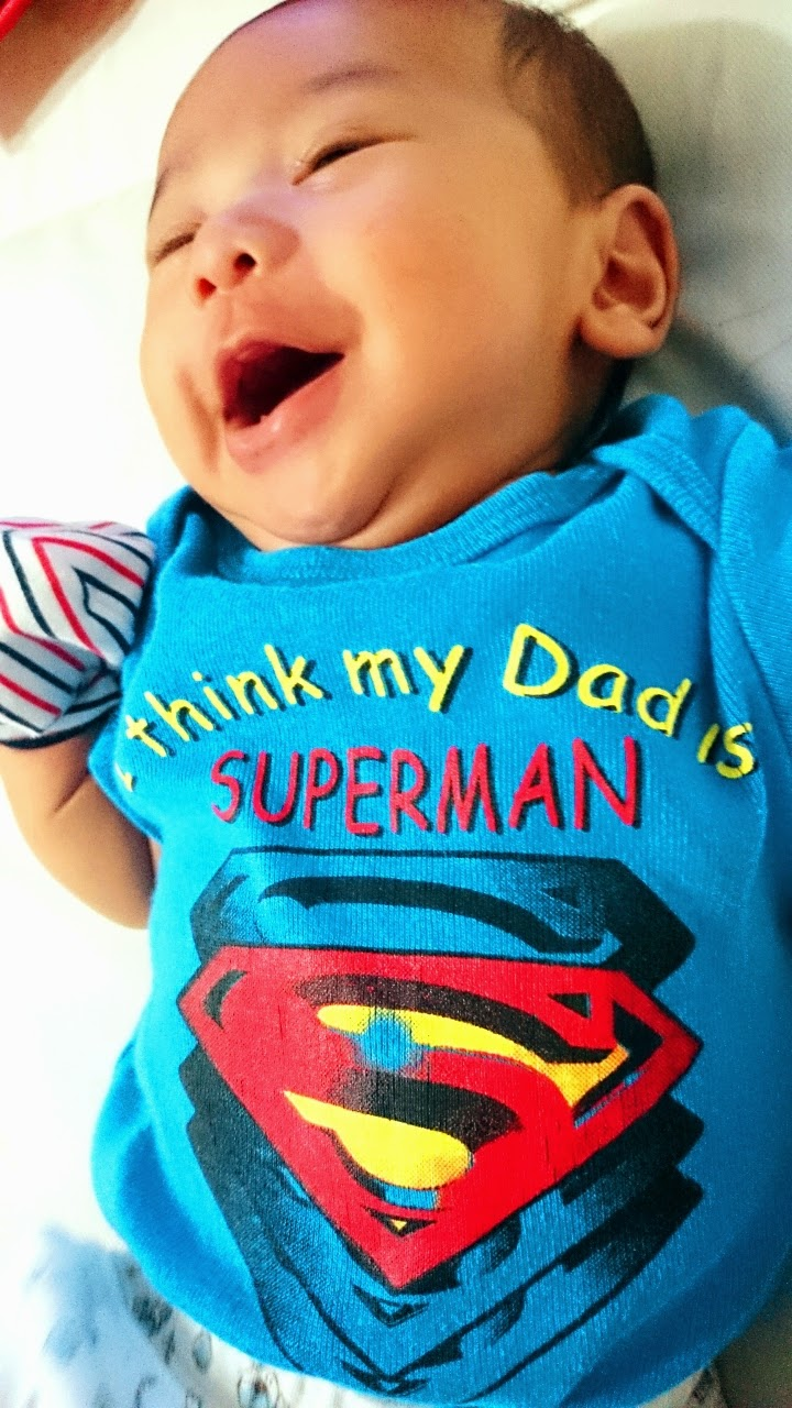 my dad is a superman