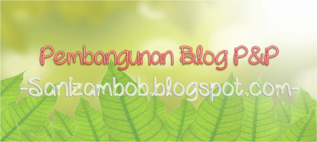 WELCOME TO SANIZAMBOB'S BLOG