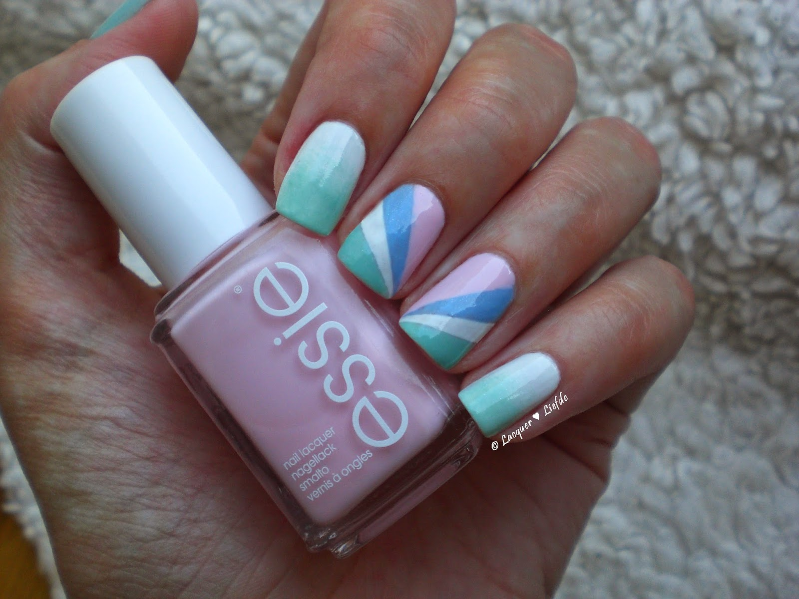 Essie Nailart with Fashion Playground, Romper Room and Rock the Boat