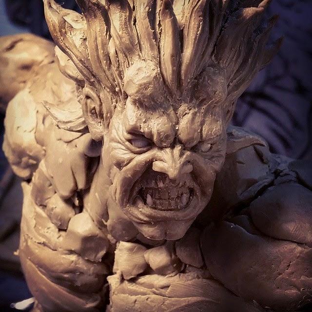 La statua di Oni della Kinetiquettes