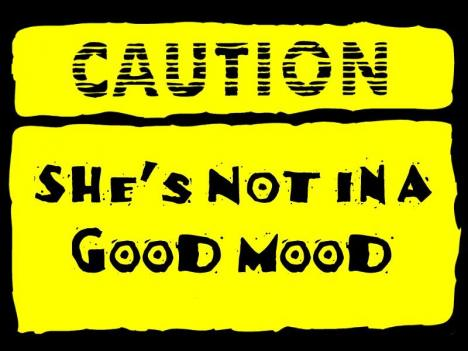 What causes mood swings during period