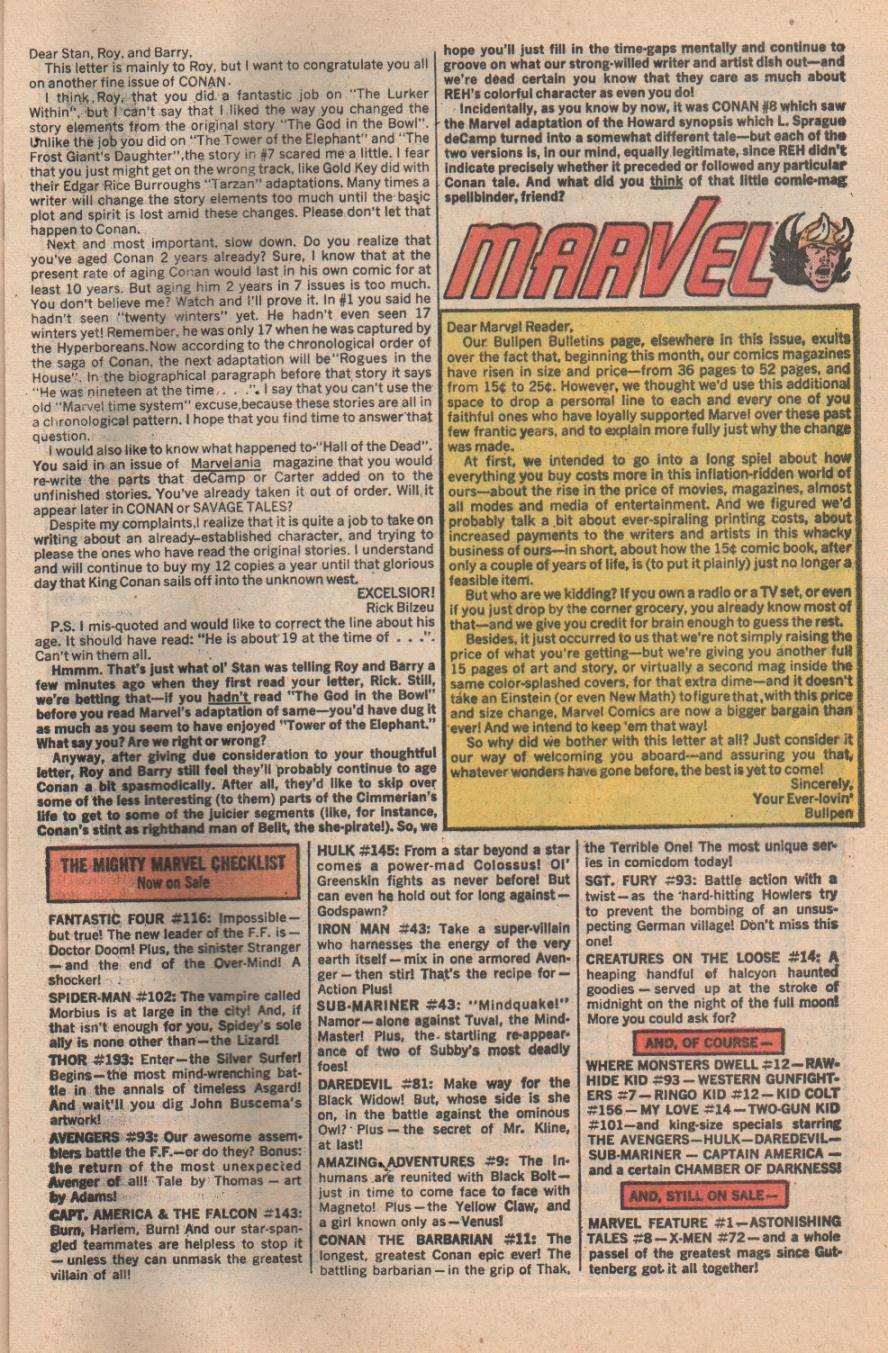 Conan the Barbarian (1970) Issue #11 #23 - English 49