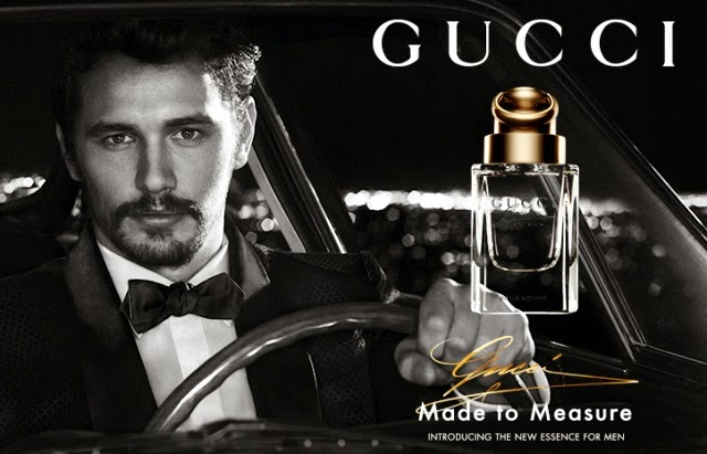 james franco gucci made to measure fragrance