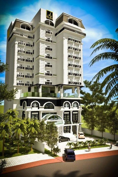 Gambar Bangunan Hotel Amaroossa Bogor