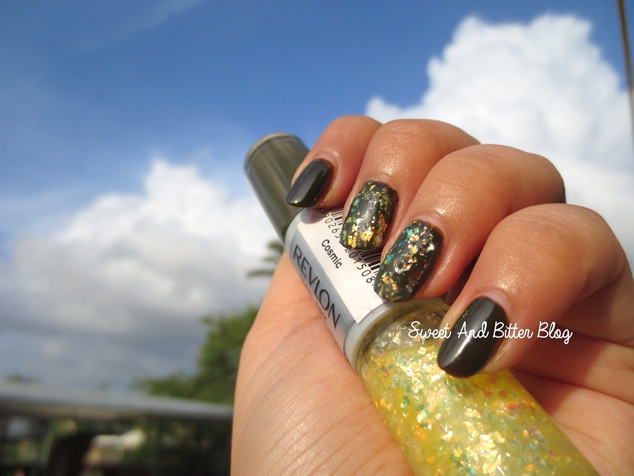 Ups and Downs of Revlon Cosmic Moon Candy Nail Art | Sweet and ...