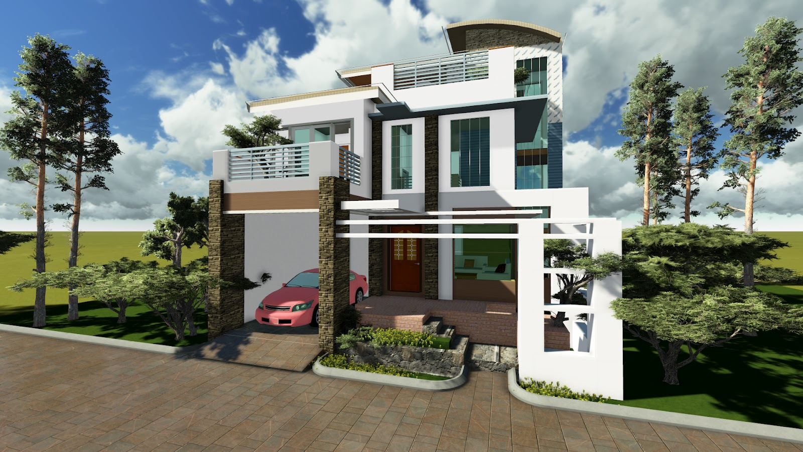 Dream home designs erecre group realty design and for Modern house design 2015 philippines