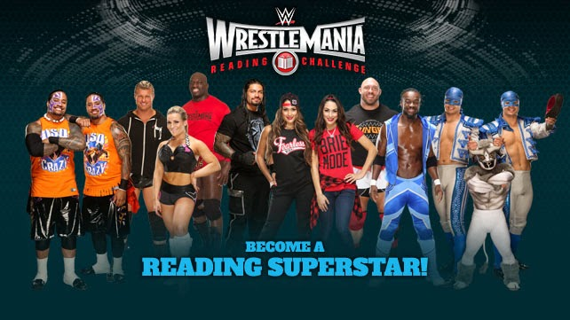 2015 Wrestlemania Reading Challenge Starts Now!