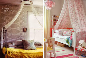 My Little Sweet House Make Your Own Bed Canopy
