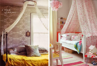 Make your own bed canopy