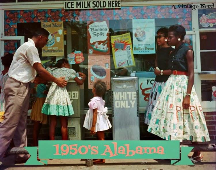 A Vintage Nerd, Vintage Blog, Retro Lifestyle Blog, Vintage Photos, 1950's Alabama Photos, A Picture Worth a Thousand Words