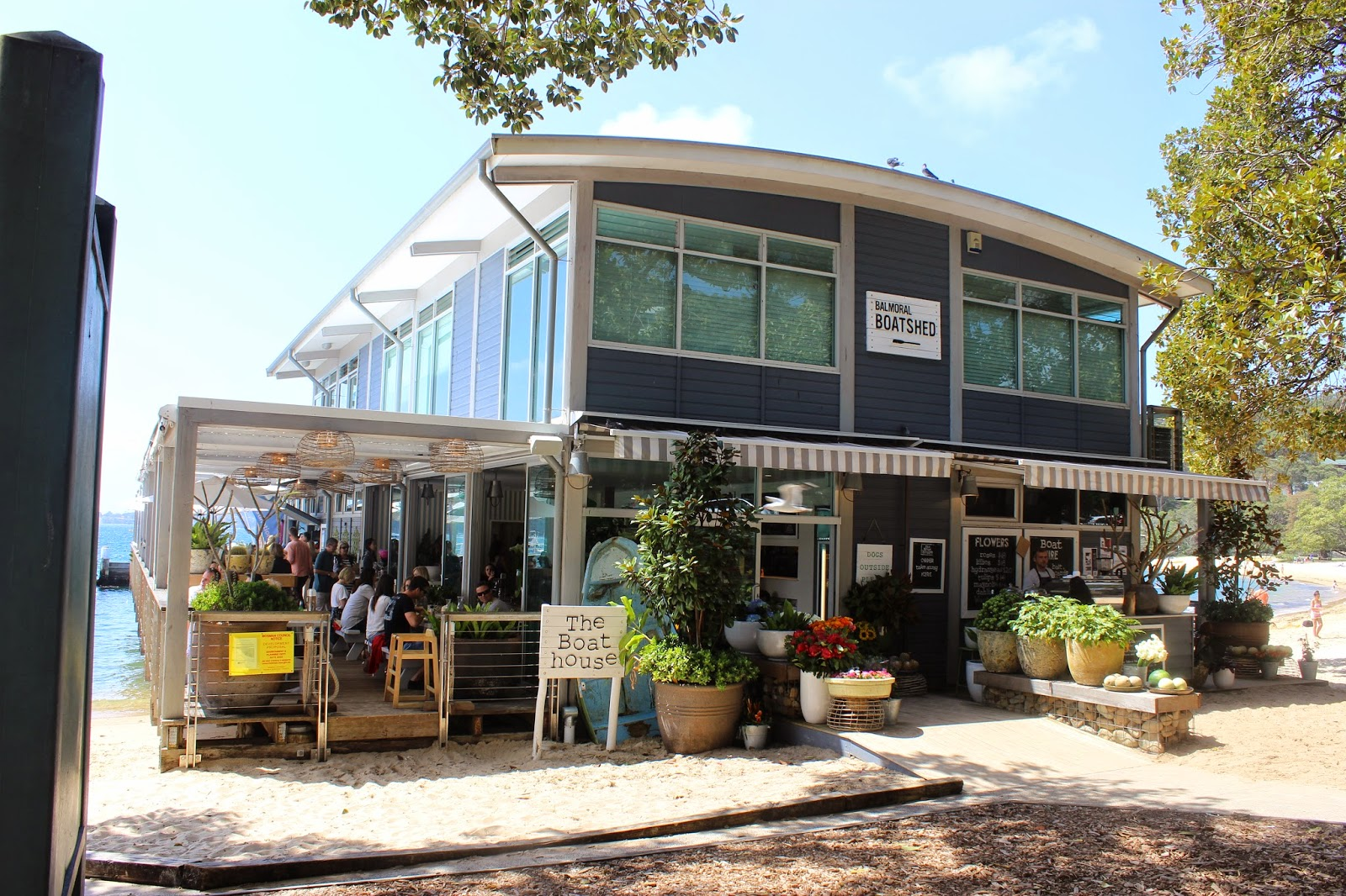 The Hungry Foodtech The Boathouse Balmoral Beach Mosman