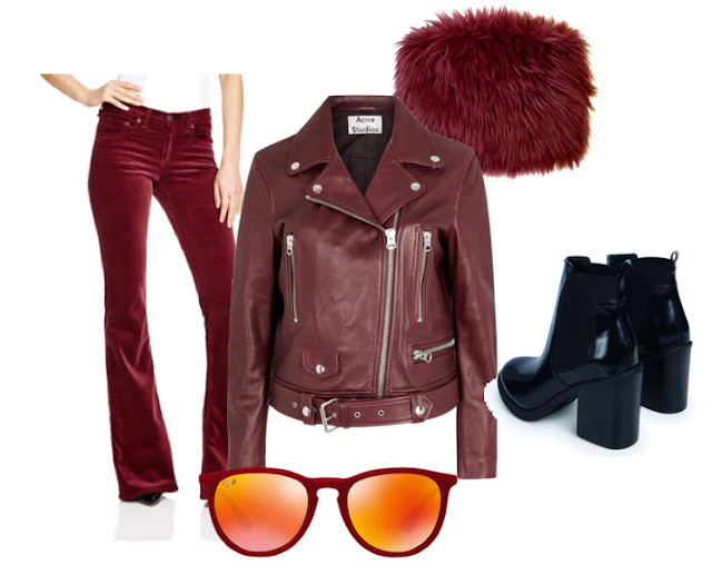 chloeschlothes - current mood bordeaux tendance 70's