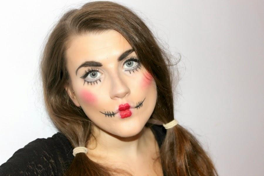 Halloween Make Up: Creepy Doll | china doll diaries