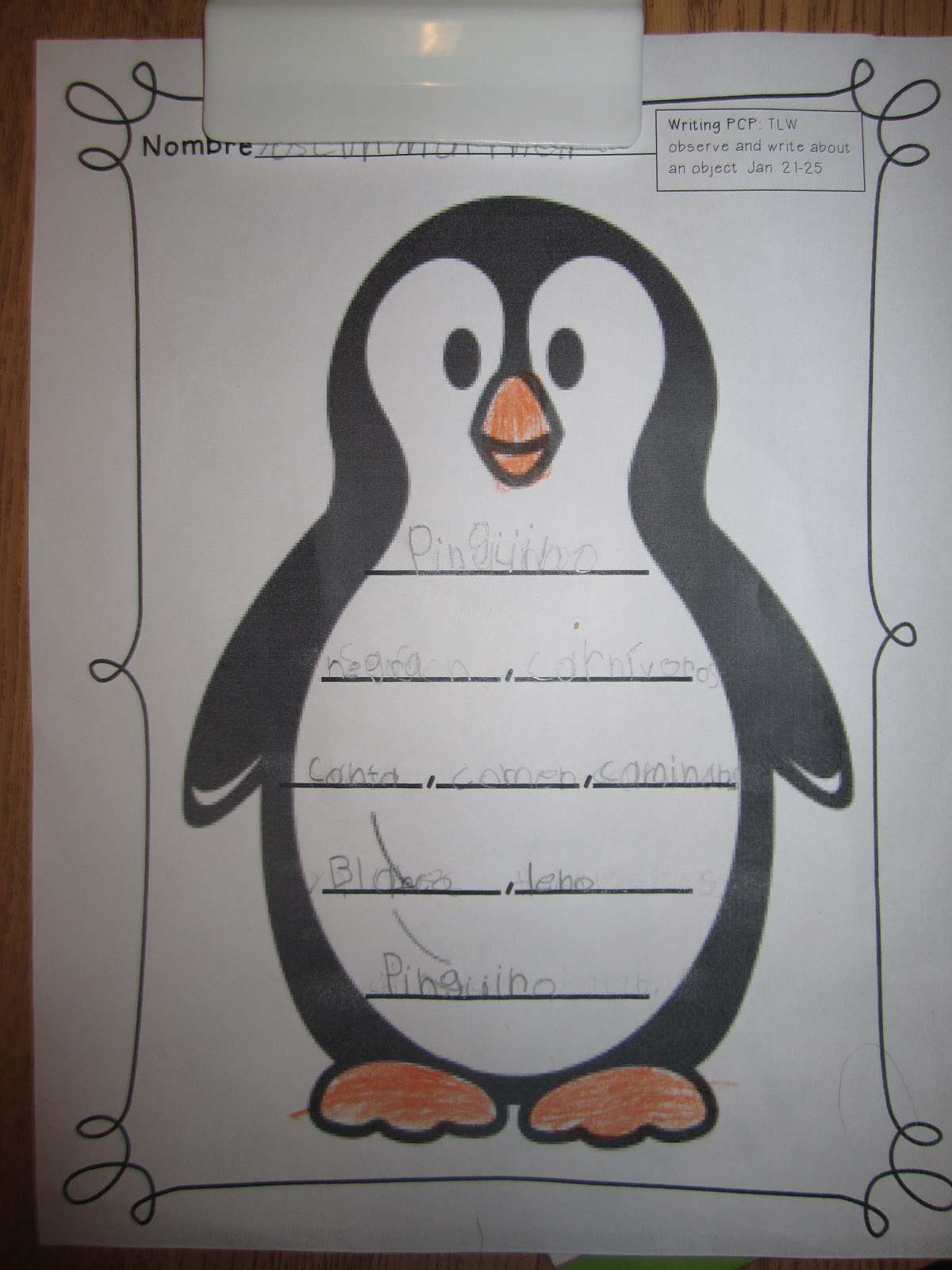 Displaying 20> Images For - Penguin Writing Paper...