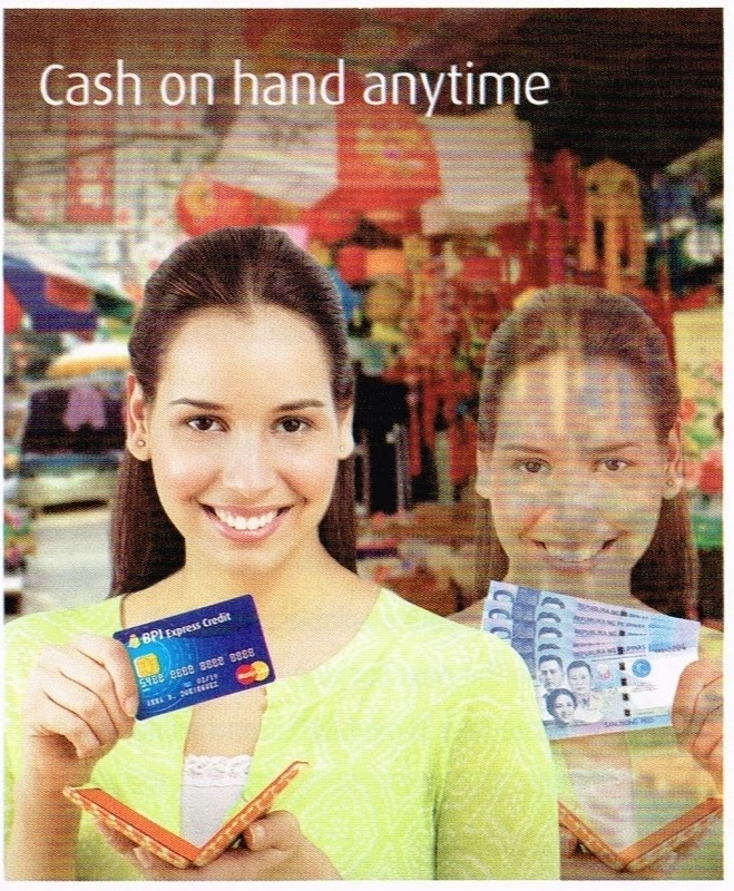 BPI Credit Cards: Cash on Hand anytime...