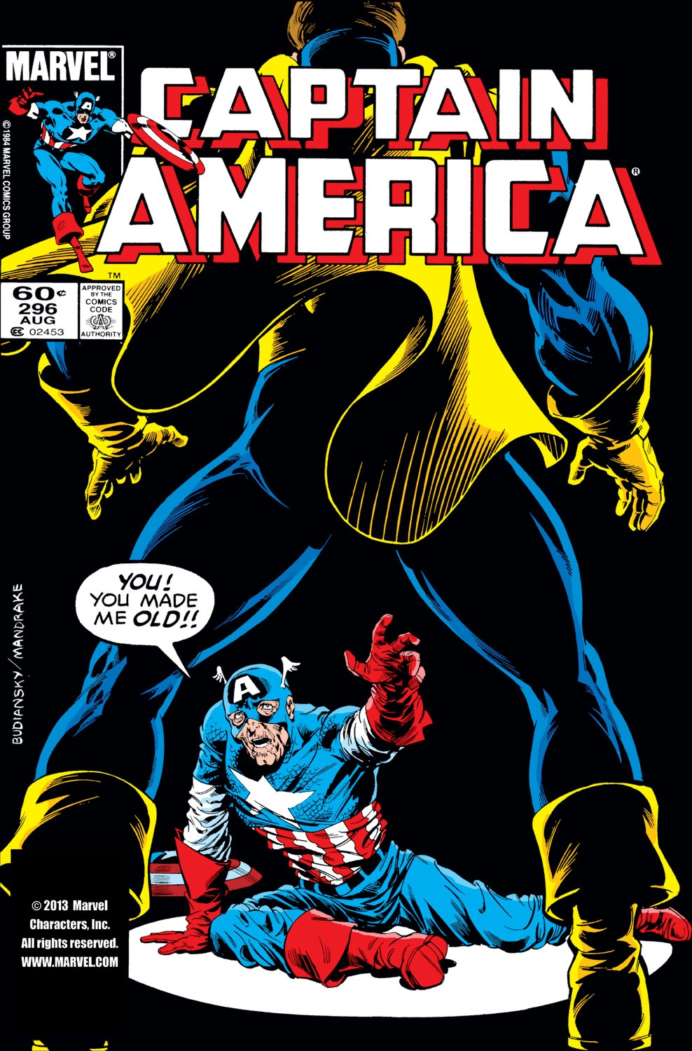 Captain America (1968) Issue #296 #224 - English 1
