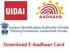 e-Aadhaar download online
