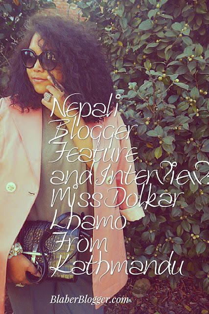 Fashion Blogger from Kathmandu Nepal