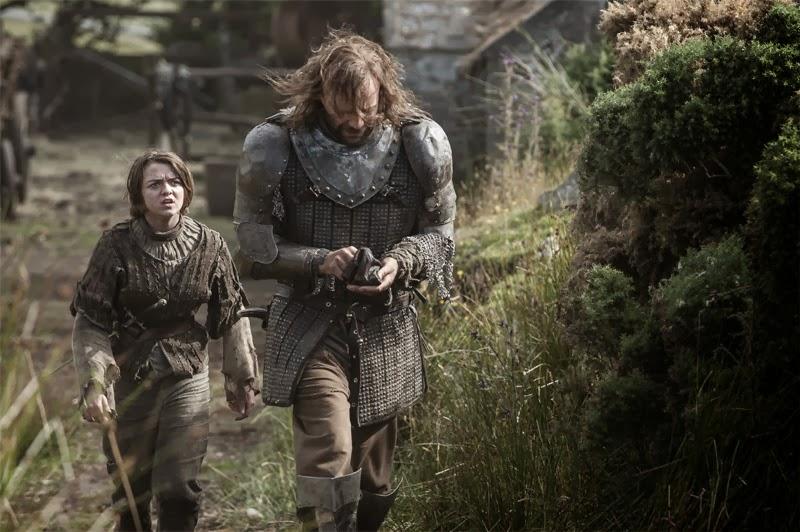 Arya y el Perro - Juego de Tronos cuarta temporada